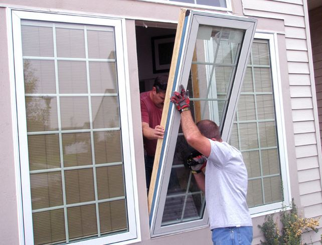 professional window company replacing clients windows in Haddon Heights NJ