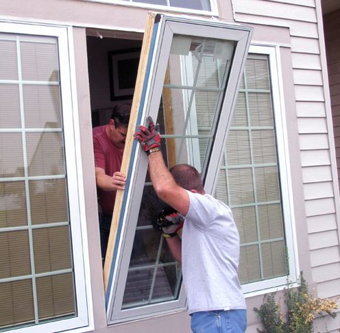 professional window specialist installing clients windows in Waterford Works NJ 08089