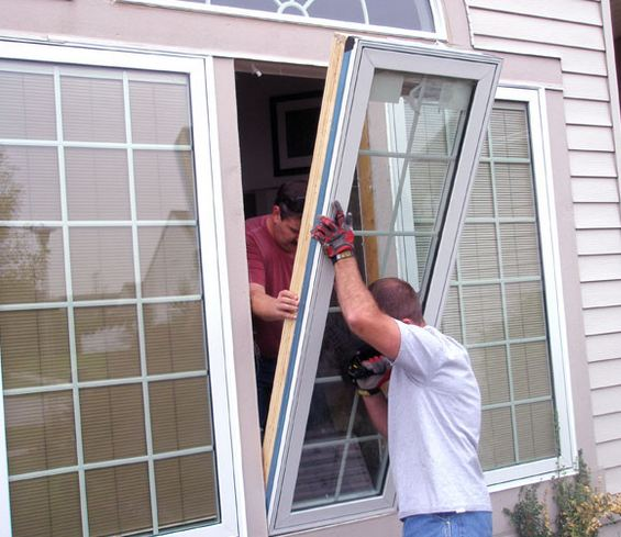 affordable window contractor installing clients windows in Bellmawr NJ