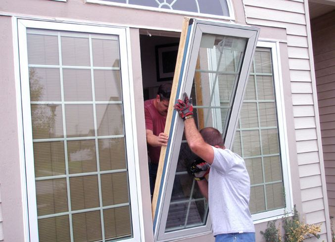 affordable window contractor replacing clients windows in Riverside NJ