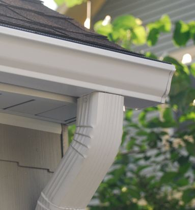 affordable gutter specialist replacing clients gutters in North Wales Pennsylvania