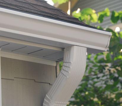 insured gutter expert replacing customers gutters near Cheltenham Pennsylvania 19012