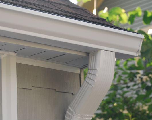 reliable gutter expert replacing new gutter system near Fairview Village Pennsylvania